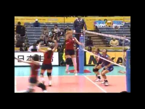 2006 World Championships Women's Volleyball KOR X TPE 1SET [2/2]