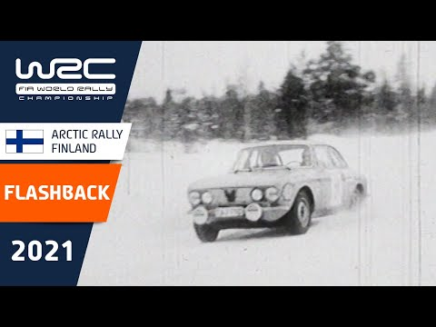 FLASHBACK - WRC Arctic Rally Finland (Lapland)