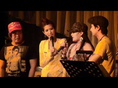 2011-08-30 梁一貞新歌發表會 08 戀人的祝福+來賓站台@Brown Sugar