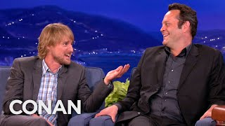 Vince Vaughn and Owen Wilson Are Not Tech-Savvy - CONAN on TBS