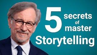 Steven Spielberg's 5 Secrets of Master Storytelling