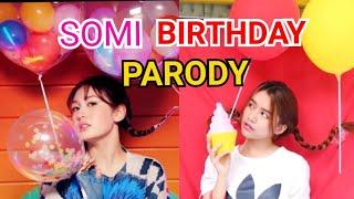 SOMI 'BIRTHDAY' PARODY MV