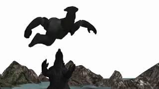 Godzilla vs Kong  trailer (3D ANIMATION) - Godzilla: king of the monsters