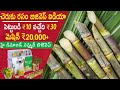 Sugarcane Juice Making Business in Telugu l Ganna/Sugarcane Juice Machine l New Small Business Ideas