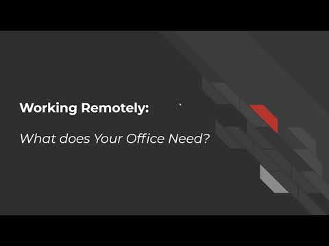 Remote Workforce IT Best Practices Presentation
