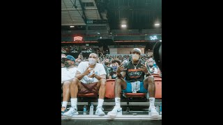 LeBron James & Russell Westbrook Pull Up To Watch Lakers In NBA Summer League #Shorts