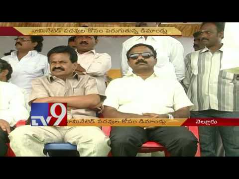 Nellore TDP leaders demand for nominated posts