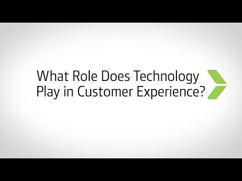 What Role Does Technology Play in Customer Experience