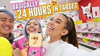TARGET ADVENTURES! Spending ALL DAY in Target. Basically 24 hours if you're being dramatic.