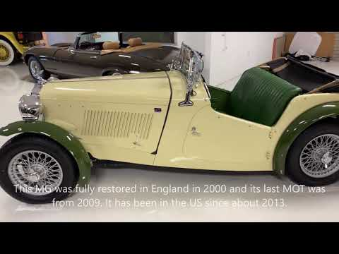 video 1949 MG TC Special