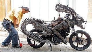 أغرب 10 دراجات نارية في العالم , لن تصدق أنها موجودة