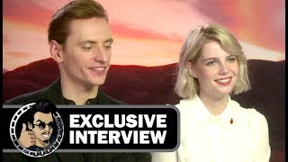 Sergei Polunin & Lucy Boynton Interview - MURDER ON THE ORIENT EXPRESS (Exclusive)