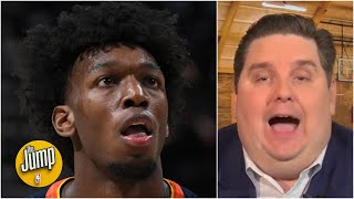 I am blown away by James Wiseman's potential - Brian Windhorst   The Jump