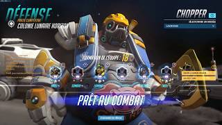 Overwatch - Roadhog Gameplay - Colonie Lunaire Horizon Ep1