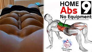 9 abdos workout  Home Excersice