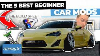 5 Best Beginner Car Mods | The Build Sheet