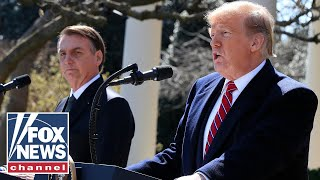 Trump, Brazil's President Bolsonaro hold joint press conference
