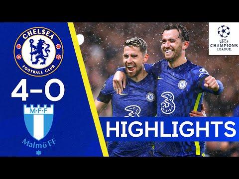 Chelsea 4-0 Malmö FF | Jorginho Grabs A Brace From The Penalty Spot | Champions League