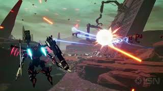Daemon X Machina Reveal Trailer - E3 2018