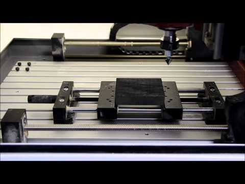 Making a Simple Sign with Denford QuickCAM 2D Design with VCarve - Part 2
