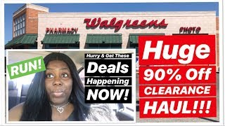 WALGREENS HUGE 90% OFF CLEARANCE HAUL!!! Toys, Clothing, Shoes And More