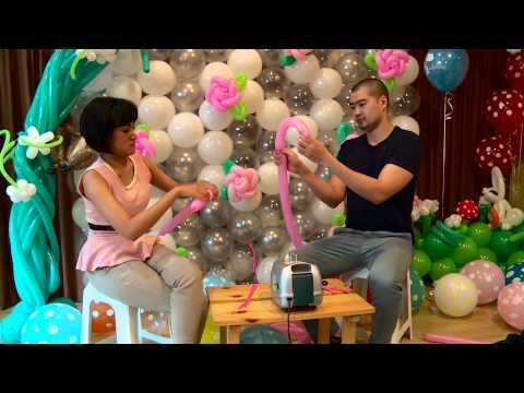 Kreasi Unik Seni Membentuk Balon - NET12