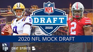 2020 NFL Mock Draft: 1st & 2nd Round Projections Ft. Chase Young, Derrick Brown, CeeDee Lamb & Tua