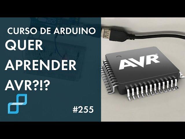 MICROCONTROLADOR AVR: VAMOS DO PRINCÍPIO | Curso de Arduino #255