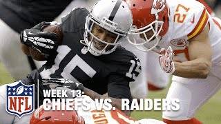 Michael Crabtree Somehow Hauls in TD from Derek Carr! | Chiefs vs. Raiders | NFL