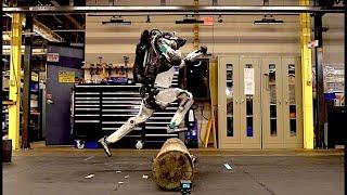 Boston Dynamics' amazing robots Atlas and Handle