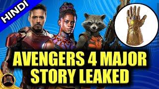 Avengers 4 full story leaked explain in hindi,Tony, Shuri& Rocket big role in avenger 4,changing aor