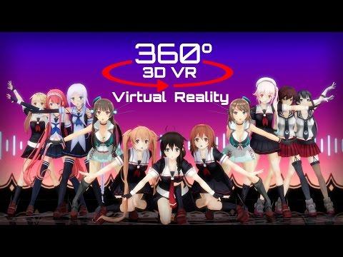 360 3D 4K | MMD Help me!! ?VR? ???Ver