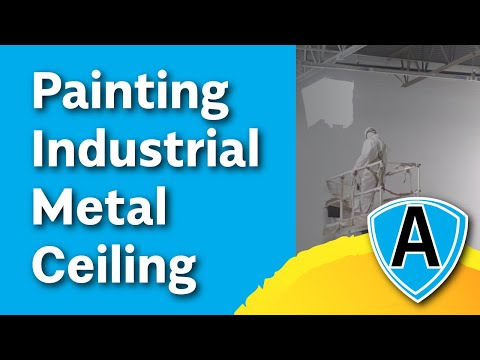 Allied Painting Contractors   Elgin Warehouse Ceiling HD