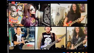 YO! For the Dave Z foundation - Kiss- c'mon and love me -Charlie Benante - Anthrax