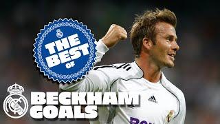 Beckham Best goals at Real Madrid