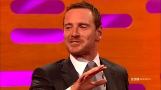 Jessica Chastain Tricks Michael Fassbender Into Breakdancing - The Graham Norton Show