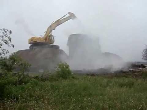 Emergency Demolition of Burning Silo 3!