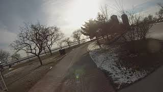Toronto Winter Ride West - GoPro Footage