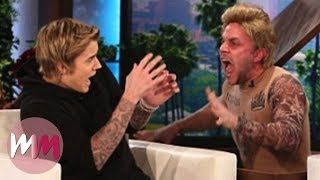 Top 10 Funniest Celebrity Jump Scares on Ellen