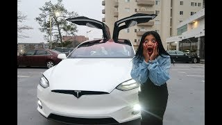 CAN'T BELIEVE OUR TESLA DID THIS   VLOGMAS DAY 22
