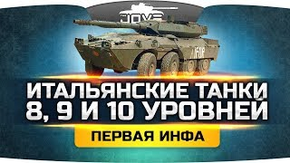 Инфа с супертеста ● Первый обзор итальянских танков 8, 9 и 10 уровня!