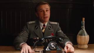 Inglourious Basterds - Colonel Hans Landa Meets Aldo The Apache