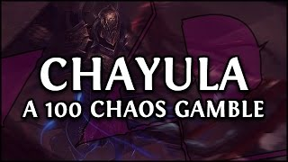 Path of Exile: My First Breachlord CHAYULA Run - Gambling 100 Chaos