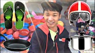 Cầm Bao Ra Chợ Mua Ve Chai Max Khùng Siêu Hài || Xỉu Thánh Vlogs