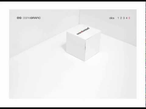 Creatividad al cubo —Espaigrafic—