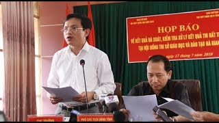 Gian lận điểm thi Hà Giang: Mở rộng điều tra để tìm đồng phạm