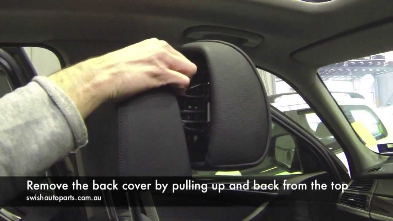 How To Repair Bmw Active Headrest Youtube