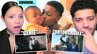 MOM REACTS TO NBA YOUNGBOY! *GENIE & UNTOUCHABLE!* (BEST REACTION!)