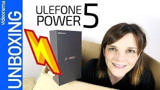 Video Ulefone Power 5 uiejJgpDLyw