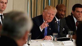 CEOs Try To Explain The Economy To Trump